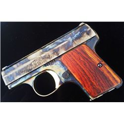 "His & Hers ""Bone & Charcoal"" Color Case Hardened PSA-25 Baby 6,35mm (.25 caliber) Pistols"