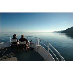 6-day Alaska Adventure Cruise for two guests aboard our 67 foot Alaska Expedition Yacht