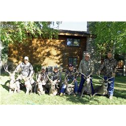 4-day deer/bird combo hunt for four hunters in Oregon - includes trophy fees