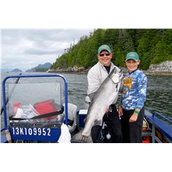 7-day/6-night fishing and cruising adventure for two in British Columbia