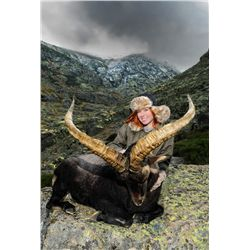 12-day Spanish ibex grand slam for one hunter and one non-hunter in Spain - includes trophy fee cred