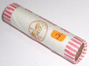 ROLL OF 1974-D UNC PENNIES *RARE UNC ROLL* PENNIES 50 TOTAL *ROLL CAME OUT  OF SAFE DEPOSIT BOX*!!