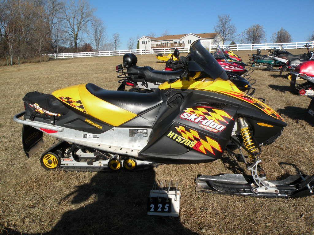 2004 Ski Doo Mxz Adrenaline 600 H O  Sdi 2bps287534v000645
