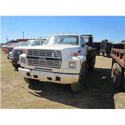 1988 FORD F800 S/A DUMP