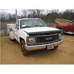 1999 GMC 3500 SERVICE TRUCK S/N 1GDJC34R2XF034336