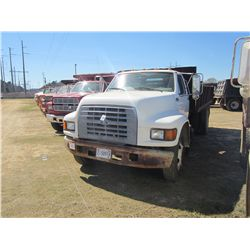 1997 FORD FSERIES S/A FLATBED DUMP