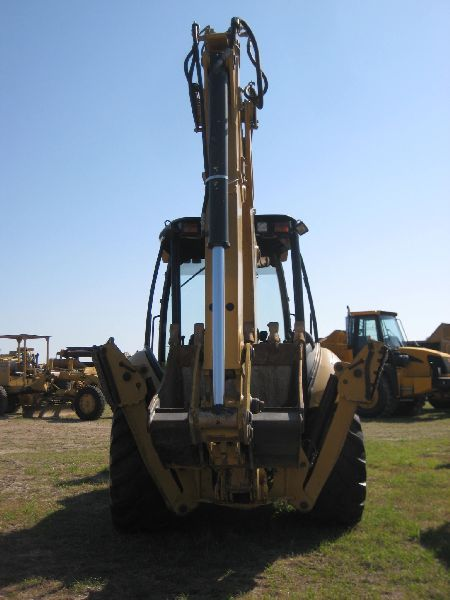 CAT 420E 4X4 LOADER BACKHOE, S/N HLS05247 (07 YR) EXTENDAHOE, 4N1 BUCKET,  RIDE CONTROL, 36