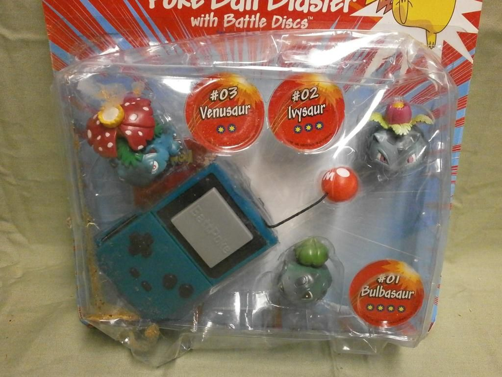 NIP Pokemon Poke Ball Blaster - 01, 02 & 03