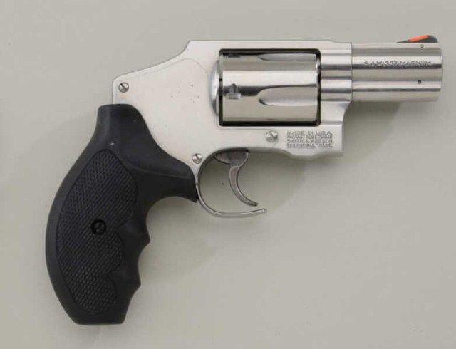 Smith & Wesson Model 640-1 DA hammerless revolver,  357 Mag  cal