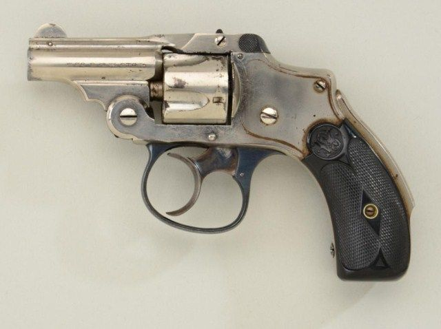 "Smith & Wesson ""Bicycle Model"" DA New Departure revolver"