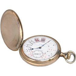 Gambler's Gold Elgin Pocket Watch