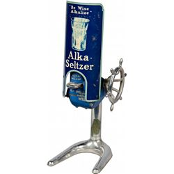 Vintage Alka-Seltzer Countertop Dispenser