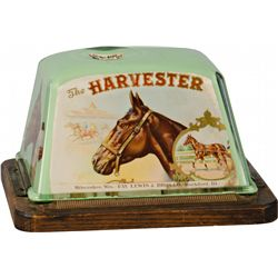 The Harvester Countertop Glass Wind-Up Cigar Cutter On