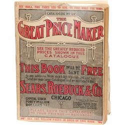 "Vintage ""The Great Price Maker"" Catalog No. 117 By Sear"