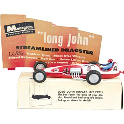 """Long John"" Monogram Dragster Model w/ Display Box"