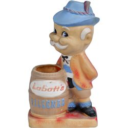 Labatt's Pilsener Rubber Figural Advertisement Countert