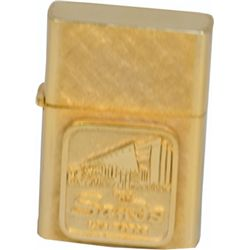The Sands Casino Las Vegas 14 Karat Gold-Plated Zippo-S