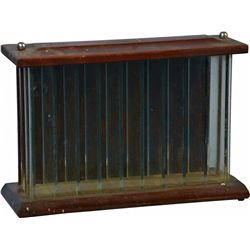 Early Wood And Glass Store Countertop Display Case By