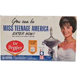 Miss Teenage America Lithograph Print Advertisement Sig