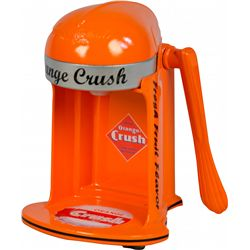 Drink Orange Crush Vintage Countertop Juice-O-Mat