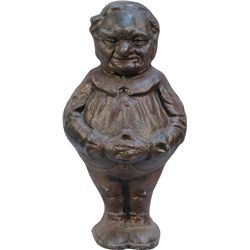 Painted Cast-Iron Garden/Lawn Gnome