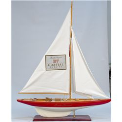 Beaulieu Vineyard Coastal Estates Wine Pond Sailboat Di
