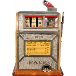 5 Cent Pace MFG Co. Operators Bell Slot Machine, Chicag