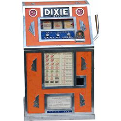 5 Cent Dixie Bell 3-Reel Countertop Trade Stimulator