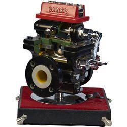 Daniel Natural Gas Meter Cutaway Salesman Sample Displa