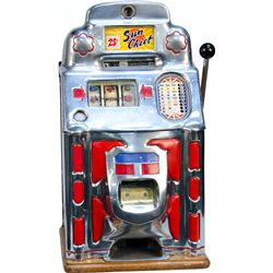 25 Cent O.D. Jennings Club Chief Super Deluxe Slot Mach