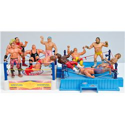 Lot of Assorted Wrestling Toys: