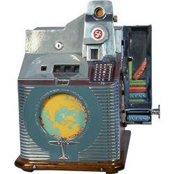 5 Cent Mills Novelty Q.T. Dial Bell Slot Machine w/ Min