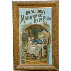 Dr. Schenck's Mandrake Liver Pills Advertisement In Fan