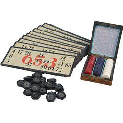 Lot of 3 Early Gambling Items: