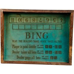Lot of 2 Gambling Layouts: