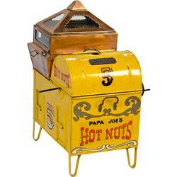 """R.J. Masbach """"Papa Joe's Hot Nuts 5 Cents"""" Nut Roaster"""