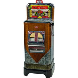 """5 & 25 Cent O.D. Jennings """"Challenger"""" Console TIC-TAC-"""