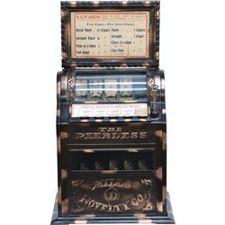 """Early 5 Cent Mills Novelty Co. """"The Peerless"""" Counterto"""