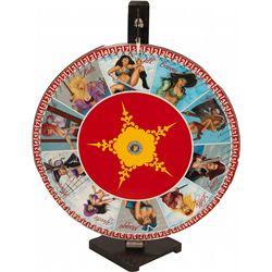Pirate Girls Table Gambling Wheel on Stand