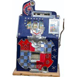 10 Cent Mills Novelty Half-Top Castle Front Slot Machin