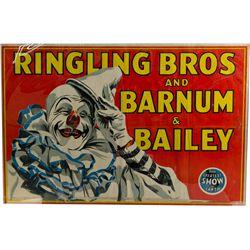 Lot of 2 Circus Posters, Ringling Bros Barnum & Bailey