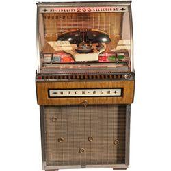 Rock-Ola 1455D Deluxe Model Hi-Fidelity Jukebox