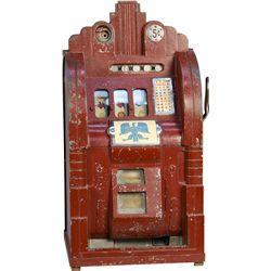 5 Cent Mills Novelty Extraordinary Hi-Top Slot Machine