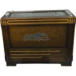 """5 Cent """"Bakers Pacers"""" Horse Race Betting Machine"""