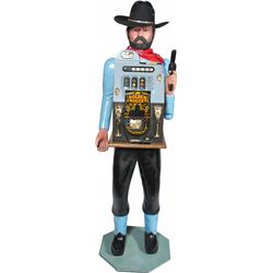 25 Cent Mills Novelty Golden Doll Hi-Top One-Armed Band