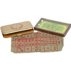 Lot of 2 Gambling Items: