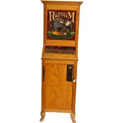 25 Cent BioRhythm Vintage Arcade Game Machine