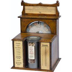5 Cent Clawson's Cigar Countertop Wheel Clockwork Trade