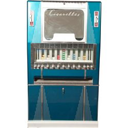 Coin-Op Vaughn's Vendors Floor Model Cigarette Vending