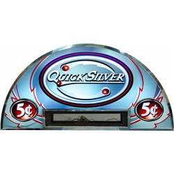 "Large ""5 Cent Quicksilver"" Double-Sided Light-Up Curved"